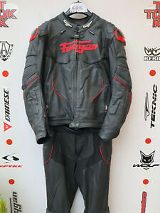 "Furygan Raptor 2 piece race suit without hump uk 46 jacket uk 34"" jeans"