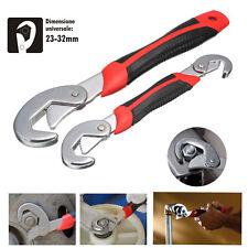 Rollgabelschlüssel Snap'n Grip Universal Schlüssel Schraubenschlüssel Set 9-32mm
