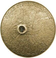 2016 1 Oz Silver $1 MERCURY REAL METEORITE NWA 8409 Coin.