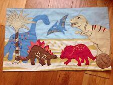 Sass & Belle Rectangular Dinosaur Childrens Throw Cushion Cover Inner Pad