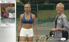 Sopranos Drea De Matteo autographed 8x10 photo with playing tennis Jsa Cert