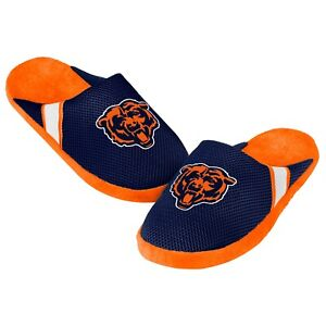 Chicago Bears Jersey Mesh SLIDE SLIPPERS New - FREE USA SHIPPING