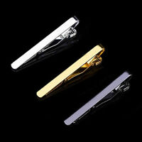 Tie Clip Easy Men Shirt Collar Brooch Convenient Pin Bar Clasp Metal Pinch Hold