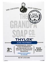 Grandpa's Thylox Acne Face & Body Soap Bar w/ 3% Sulphur 92g