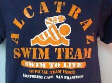 Alcatraz Swim Team Rain Forest Cafe T Shirt San Franciso Size S NEW Ships Free