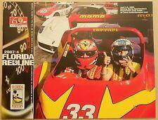 Ferrari Club of America florida Redline 2007/4 región Newsletter Book brochure