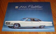 Original 1966 Cadillac Full Line Sales Brochure De Ville Fleetwood Calais