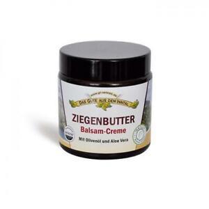 Inntaler Ziegenbutter Balsam mit Olivenöl und Aloe Vera 110 ml im Glastiegel
