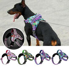 No Pull Reflective Adjustable Dog Harness w/ Handle Pet Vest Small Medium Large