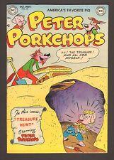 "Peter Porkchops #18 - ""Treasure Hunt!"" - 1952 - (Grade 9.0) WH"