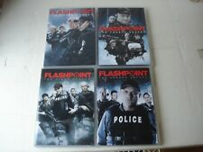 FLASHPOINT / SEASON'S 1, 2, 3, & 4 / ACTION CRIME DRAMA / FREE SHIPPING TO USA