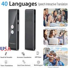 Translaty MUAMA Enence Smart Instant Real Time Voice 40 Languages Translator USA