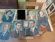 9 Ölgemälde Gemälde Dachauer Maler August Kallert Dachau Portrait Stadtansicht