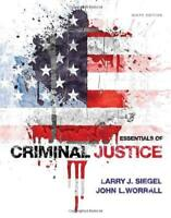 Essentials Of Criminal Justice  - by Siegel