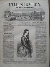 L' ILLUSTRATION 1847 N 211 Mlle LOLA MONTES, DANSEUSE EXOTIQUE ET COURTISANE