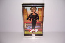 GREASE Sandy Black Leather 25th Anniversary Barbie Doll Olivia Newton John