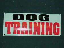 DOG TRAINING Banner Sign NEW Larger Size PET Large Animal 4 Grooming Shop Vet