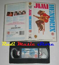 VHS JIMI HENDRIX 1988 warner PES 61267 98 MINUTI UK no cd mc dvd lp(VM3)