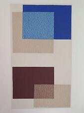Josef Albers Original Silkscreen Folder IX-3/Left Interaction of Color 1963