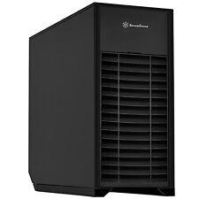 SilverStone MM01B-V2 Extended ATX/Micro-ATX/SSI-EEB/SSI-CEB Aluminum Door, Case