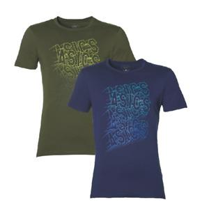 Asics GPX WALL TEE T-Shirt Top Men's Sport Casual Fintess Short Sleeve