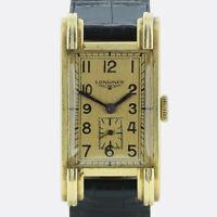Gold Longines Watch- Vintage Longines Manual Unisex Wristwatch 18ct Yellow Gold