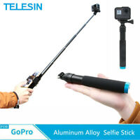 TELESIN 35 Inch Aluminum Alloy Selfie Stick for GoPro Hero 8 7 6 5 DJI OSMO US