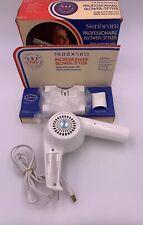 Vintage Sunbeam Professionaire hair Dryer Blower 1000 U.S. Olympic