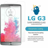 Premium Gorilla Tempered Glass Screen Protector Guard Film For LG G3 D855 D850