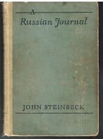 A Russian Journal by John Steinbeck 1948 1st Ed. Rare Vintage Book!  $