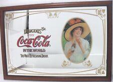 Coca-Cola - SPECCHIO MEDIO DIPINTO e INCORNICIATO