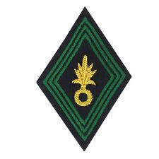 Losange / écusson de bras cannetille  pour Ténue Uniforme de Officier LÉGION