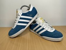 Adidas Beckenbauer All Round Men's Blue White Trainers B34800 Size UK 9