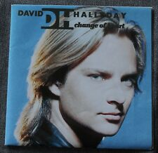 David Hallyday, change of heart / move, SP - 45 tours pochette poster