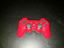 Sony PlayStation PS3 DualShock 3 Sixaxis Red Wireless OEM Controller CECHZC2U