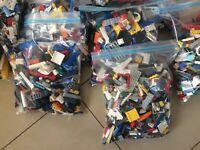 2 KG LEGO CREATIVITY PACKS, BUILDING BULK LOT - AMAZING MIX!- x1700pcs!