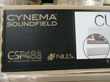 """Niles Cynema Soundfield CSF48a 48"""" Inch In-Wall Soundbar Speaker System"""