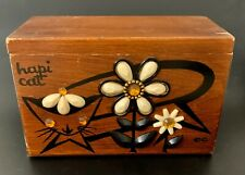 Enid Collins Wooden Box Hapi Cat Bag Purse Use Repair Parts