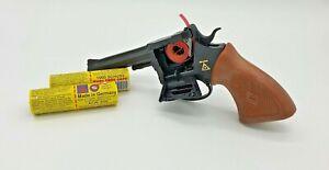 Sohni-Wicke Rodeo 100 Schuss Pistole + 2000 Schuss Munition Fasching Revolver