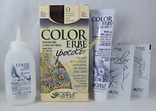 COLORERBE IPOCOLOR sólido TEÑIDO cabello en crema 60ml color 9 RUBIO CENIZA