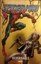 Ultimate Spider-Man Vol 15 Silver Sable Marvel TPB Bendis Bagley Omega Red ITALY
