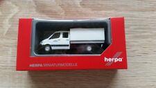 Herpa 700665 - 1/87 MB sprinter doble cabina con lona-ejército-nuevo