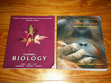 Campbell Biology Introduction to Biology 1 & 2 UCF Edition Reece Urry Cain Etc..