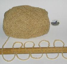100g Yellow Wheat Boucle 100% Pure British Breed Wool double knitting dk yarn