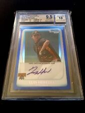 2011 BOWMAN CHROME PROSPECT ~ LUIS HEREDIA BLUE REF AUTO BGS 9.5/10 ~ PIRATES