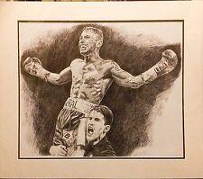 Boxe Carl Frampton Biro BIC STYLO ORIGINAL by Killian Art