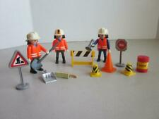Playmobil Road Crew Construction 3 Figures  with accessories