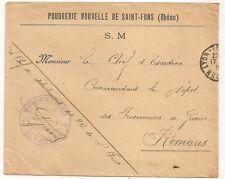 SAINT FONS PRISONNIERS  DE GUERRE POUDRERIE NOUVELLE . L691
