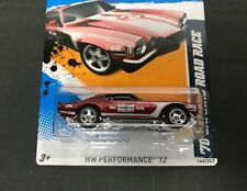 '70 CAMARO ROAD RACE Hot Wheels 2012 SUPER TREASURE HUNT with Real Riders + Case