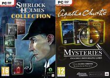 Sherlock Holmes collezione & Agatha Christie MISTERI NUOVO e SIGILLATO